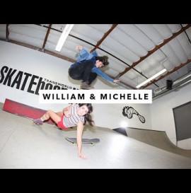 William Spencer and Michelle   TransWorld SKATEboarding