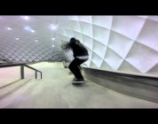 Winter lines at skatepark-rzeszow
