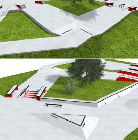 Wood Camp - nowa skate plaza !!!