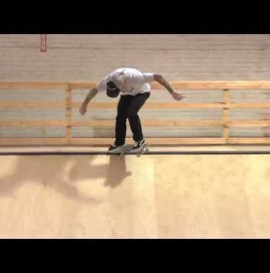 WORLD INDUSTRIES - LEARNING CURVE: MIKE FRANKLIN - BACKSIDE CROOKED GRINDS ON TRANSITION