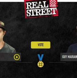 X Games Real Street - final vote.