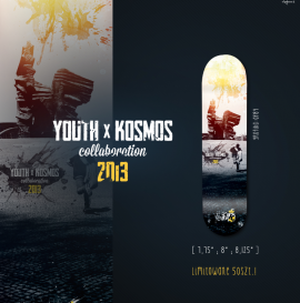 Youth x Kosmos Skate Shop.