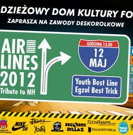 Zawody deskorolkowe Airlines 2012 - 12 maj Kraków/NH