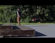 Zbigniew Safian na nowym skateparku w Bydgoszczy