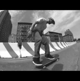 Zered Bassett in the streets of NYC