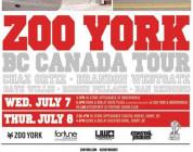 ZOO YORK VANCOUVER CANADA TOUR 2010
