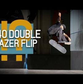 540 Double Lazer Flip?! Jordan Mourning NBD