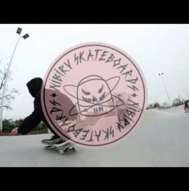 Albert Azjan - One day at the SWAJ skatepark!!! Nibiru Skateboards Workshop