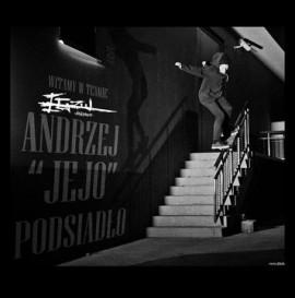 """Andrzej """"Jejo"""" Podsiadło w teamie EGZUL skateboards"""