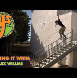 Big Day in the Streets! Kicking it With: Alex Willms | OJ Wheels