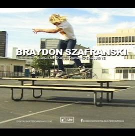 Braydon Szafranski Manuals Baby! - Digital Skateboarding