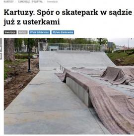 Bubel - Skatepark w Kartuzach