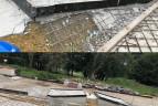 Burak skatepark betonowy Dombud