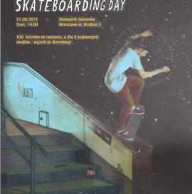 Burn Skateboarding Day w Warszawie!