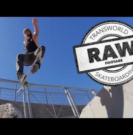 Chris Haslam Pro Spotlight Video Raw - TransWorld SKATEboarding