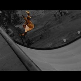 Craziest Skateboarder Slam Fall on Mega Ramp