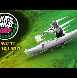 David Gravette Goes to SKATE WILD Camp!