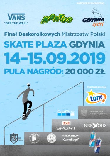 FINAŁ Deskorolkowych Mistrzostw Polski - Gdynia