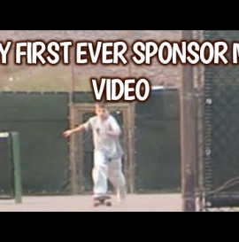 FIRST EVER SPONSOR ME VIDEO: AGE 13 -2003