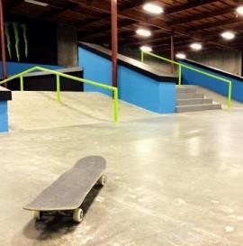 First Look at Nyjah Huston's Training Facility