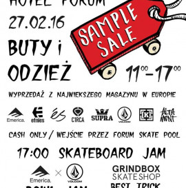 Footwear & Apparel SAMPLE SALE! / EMERICA x VOLCOM BOWL CHALLENGE