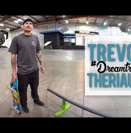 FS Hurricane To BS Feeble Shuvit Out?! Trevor Theriault's #DreamTrick