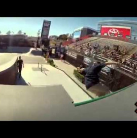 GoPro HD Ryan Sheckler Skate Street Course Preview Summer X