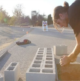 How To: Build A Cinder Block Ledge with Dave Bachinsky