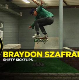 How To: Shifty Kickflips With Braydon Szafranski