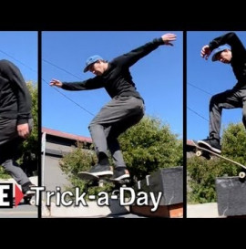 How-To Skateboarding: Backside 5-0 to Frontside 180 with Billy Roper
