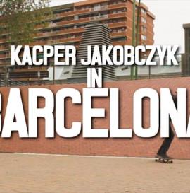 Kacper Jakobczyk in Barcelona