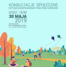 Konsultacje społeczne - Kraków - Park Kurdwanów