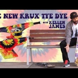 Krux Trucks Kellen James and the New Krux TyeDye