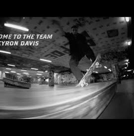 KYRON DAVIS : WELCOME TO THE THUNDER TEAM