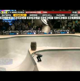 Mens Skateboard Park Final X Games Munich