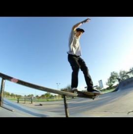 nick holt - 360 flip front feeble
