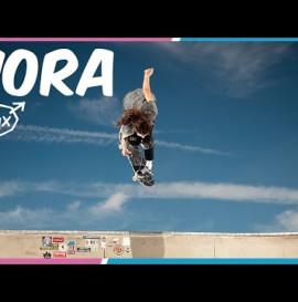 Nora Shreds on Krux 8.5