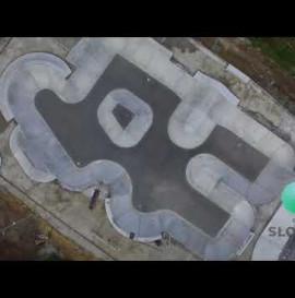 Nowoczesny skatepark w Słomnikach
