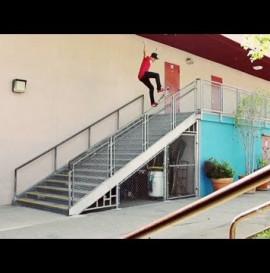 Nyjah's 18 Stair Hammer