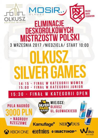 Olkusz Silver Games - Przystanek Deskorolkowych Mistrzostw Polski.