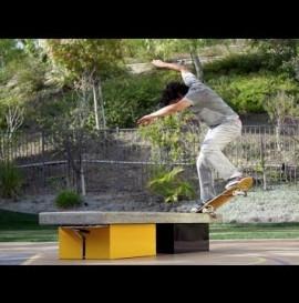 Paul Rodriguez Backyard Ledge Session