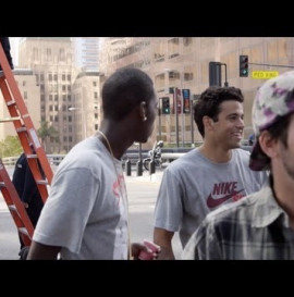 Paul Rodriguez Behind The Scenes of Nike Prod 7 Commercial