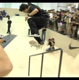 Paul Rodriguez destroys it at demo in China