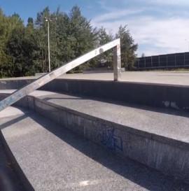 Paweł Wolak skatepark part 2015