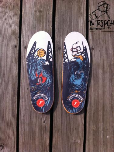 Po testach - Footprint Insoles King Foam Orthotic