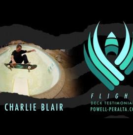 POWELL PERALTA   CHARLIE BLAIR   FLIGHT