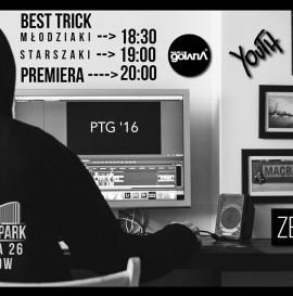 Premiera PTG 16 + best trick - Skate in park