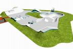 Projekt skateparku w Knurowie