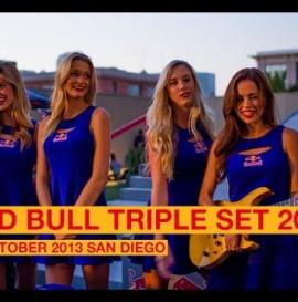 RED BULL TRIPLE SET 2013 SAN DIEGO