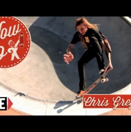 RIDE CHANNEL - HOW TO: FRONTSIDE NOSEGRIND TAILGRABS WITH CHRIS GREGSON